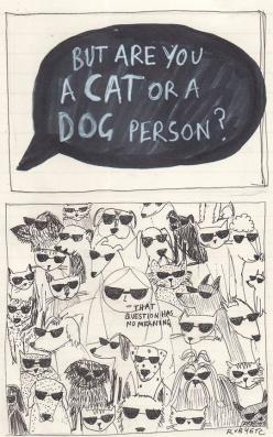 What Kind Of Question Is That: Dog Person, Russian Blue Cats, Dog Like Cat, Dogs And Cats, Dog Cat, Cats And Dogs, Cat Person Dog, Cat Like Dog
