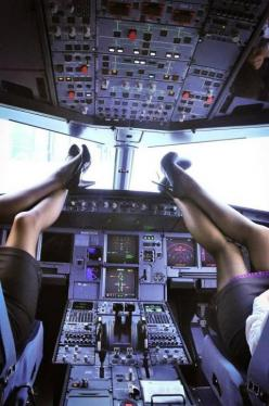 Why They Call This a Cockpit eh?   hahah   Thanks Dr. Joey Wu for sharing the joke!   :): Sexy, Post, Girl, Fly, Legs, Photo