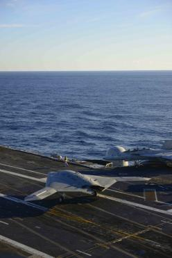 X-47B, a UAV (drone) that can launch from and land on aircraft carriers.: Airplanes Airplanes, Aviation, Control Drones, Aboard Uss, Harry Truman, Aircraft Carriers