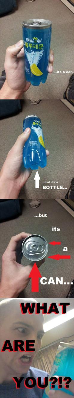 XD: Funny Pics, Funny Pictures, Funny Images, Funny Stuff, Funnies, It S Korean, Bottle
