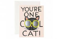 You're one cool cat!: Cool Cats, Animals, You Re, Cat Greeting, Cat Cards, Greeting Card, Cat That S, Products