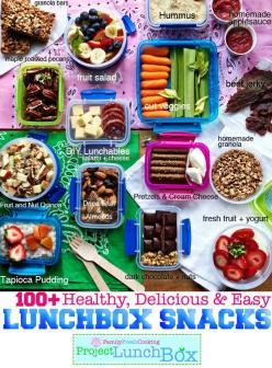 100+ Healthy, Delicious and Easy Lunchbox Snacks: Healthy Lunch, School Lunch, Kid Lunch, Healthy Snack, Kids Lunch