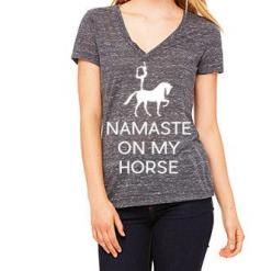 20x60's newest tee. On second thought...Namaste On My Horse!: Horse Crave, Horses 3, Horses ️ ️ ️, Charcoal Marble, Horses Freedom, Horses Humans, Horse Clothes