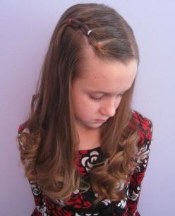 25 Cute Hairstyle Ideas for Little Girls - Fashion Diva Design: Hair Ideas, Little Girls, Hair Styles, Hairstyle Ideas, Girls Hairstyle, Girl Hairstyles, Cute Hairstyles