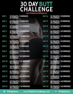 3c9380de0f73cd79d3fe290b5dfff5b1.jpg 700900 pixels Check out the website to see more: 30Day, Challenges, Workout Challenge, Butt Challenge, Fitness Challenge, Work Out, Fitness Workout, 30 Day, Butt Workout