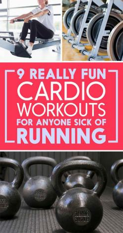 9 Incredible Ways To Get A Cardio Workout That Aren't All Running: De Flo Fitness Workout, Cardio Workouts, Running Workout, Running Fitness, Aren T, Fat Burning Cardio Workout, #Fitness Workouts, Cardio Exercises, Fit Workouts