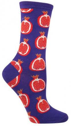 A simple fruit on the outside and beautiful and complex on the inside (also: tasty on salads!).  Fits women's shoe size 5-10.: Drink Socks, Fit Women, Style, Woman Shoes, Fits Women S, Pomegranate Socks, Womens Shoes, Pomegranates