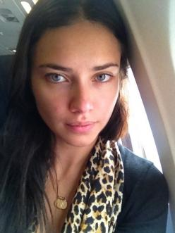 adriana lima without makeup - a reminder that just about ANYONE can be made to look like a Victoria's Secret supermodel (just need a professional make-up artist and photoshop). ;): Models, Face, Girl, Adriana Lima, Beauty, Adrianalima, Beautiful Peopl
