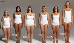 All these women weigh 154 pounds! We all carry weight differently. There is no 'right' body type. Don't compare yourself to other people's bodies, learn to love the body you're in NOW and keep your eyes on a healthy goal weight that is right for YOU.: Los
