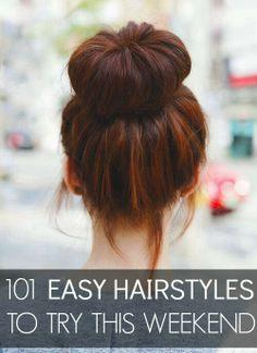As we all know, a perfect hairstyle plays an important part for your overall style. Women are always seeking for a new hairstyle to make them look more beautiful. Actually, a beautiful hairstyle does not always mean complicate and structured. There're als
