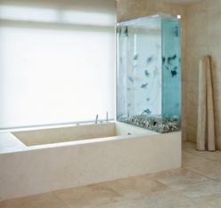 awesome fish tanks - Click image to find more other Pinterest pins @lexi Pixel Czerniak this is for you!: Idea, Chandelier, Dream, Fish Tanks, Fishtanks, Bathtubs, Aquarium, Bathroom