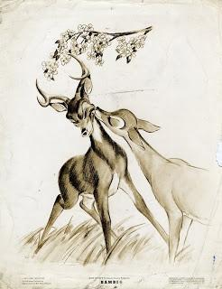 Bambi and Faline <3: Deer Sketch, Drawling, Bambi Drawing, Art Sketches, Book, Cute Couple Drawing, Cute Sketches Of Couples