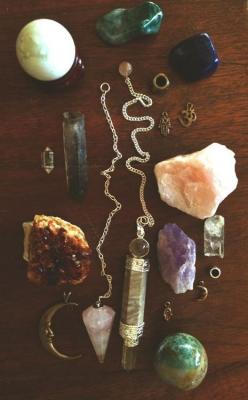 ☆ Beautiful Crystals Ƹ̵̡ Crystal Adornments ☆: Magic, Mineral, Crystals Stones, Beautiful, Jewelry, Rock, Things, Accessories