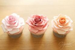 beautiful flower cupcakes. #cupcakes: Ideas, Sweet, Wedding, Food, Roses, Flower Cupcakes, Rose Cupcakes, Cup Cake, Dessert