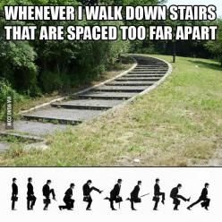 Big steps.: Giggle, Laughs, Stairs, So True, Silly Walks, Funny Stuff, Monty Python, Funnies, Things