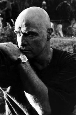 Born to act. Marlon Brando as Colonel Walter E. Kurtz, Apocalypse Now! (1979): Film, Cinema, Brando Apocalypse, Movies, Marlonbrando, Actors, 1979, Marlon Brando