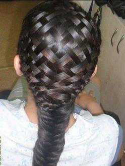 Braided Hairstyles - How to Braid Hair - Cosmopolitan -- HOW DOES ANYONE EVEN DO THIS!!!!!!: Ideas, Hairstyles, Hair Styles, Makeup, Braids, Beauty, Baskets
