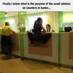 Bwahahahahahaha!!: Funny Pics, Funny Pictures, Small Shelves, Funny Stuff, Humor, Funnies, Local Bank, Photo