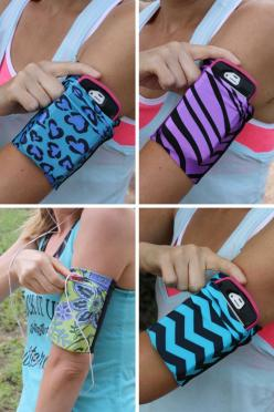 Cell phone armbands that fit most phones! Doesn't slip, works with headphones, and comfortable! speedzter.com: