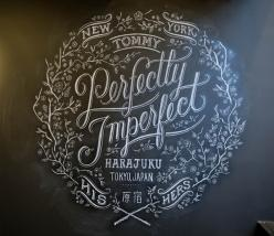 chalkboard, chalkboard, chalkboard: Graphic Design, Chalkboards, Perfectly Imperfect, Chalk Board, Chalkboard Art, Typography, Hand Lettering, Chalkboard Lettering, My Tanamachi