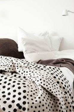 Circle circle dot dot.: Interior, Polka Dots, Idea, Inspiration, Dream, Bedrooms, Polkadots