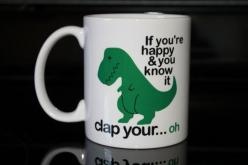 Coffee Mug  Green T Rex Coffee Mug  Funny by CreateItYourWay, $17.99: Awesome Coffee Mugs, Cups Mugs, Funny Mugs, Coffee Cups, Mugs Cups, Funny Coffee Mugs, Coffee Mugs Funny, Drinks