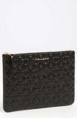 Comme des Garçons 'Large' Embossed Clover Pouch available at #Nordstrom: Garçons Embossed, Gift Ideas, Embossed Clover, Boys, Hair Makeup, Fashion Hair, As