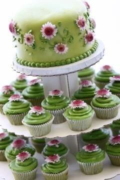 #cupcakes #wedding: Cup Cakes, Green Tea, Wedding Ideas, Weddings, Wedding Cupcakes, Cakes Cupcakes, Cupcake Ideas, Wedding Cakes, Green Wedding