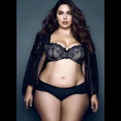 : Curvy Girl, Sexy, Lingerie, Curves Ahead, Plus Size, Beautiful, Bbw, Fluvia Lacerda