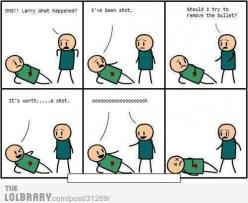 cyanide and happiness  This would probably be my last words: Giggle, Cyanide, Funny Stuff, Funnies, Humor, Happiness