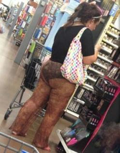 Diarrhea Colored See Through Pants Sale at Walmart Freshly Rolled in Shit Fail - Funny Pictures at Walmart: Attention Walmart, Walmart Freshly, Freshly Rolled, At Walmart, Walmartian, Walmart People, People Of Walmart, Diarrhea Colored See Thru