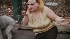 Divine, from John Waters' Pink Flamingos, 1972: Film, Pink Flamingos, Flamingos 1972, Johnwaters Filthy, Divine Goddess, Movie, Divine Johnwaters, Divine John Waters, Drag Queen