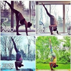 Do not forget fitness is a journey. It doesn't happen overnight.: Fitness, Laura Sykora, Motivation, Yoga Inspiration, Health, Yoga Progress, Workout