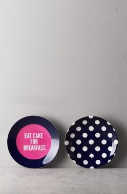 Don't mind if we do.: Good Ideas, Cakes, Tidbit Plates, Dessert Plates, Kate Spade, Don T Mind