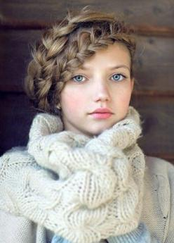 double braid...cool, but I could never do this by myself: Fashion, Hairstyles, Girl, Hair Styles, Makeup, Beautiful, Braids, Beauty