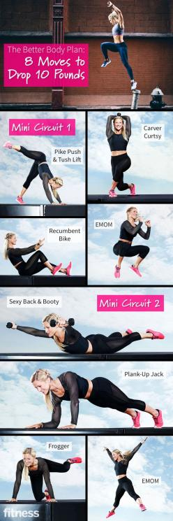 Drop 10 Pounds on the Make Healthy Happen Challenge: Body Workouts, Better Body, Fitness Workouts, 10 Pounds, Fitness Exercise, Workout Moves, Drop 10