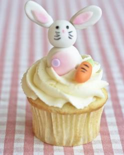 #easter: Bunny Cupcakes, Cupcakes Cupcakes, Cupcakes Babycakes, Easter Cupcakes, Easter Bunny, Easter Spring, Easter Yummy Cupcakes