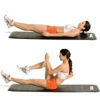 Eight serious ab moves from top Olympic trainers.  Lower ab workout: Lower Abs, Abs Workout, Ab Exercises, Lower Ab Workouts, Work Out, Top Olympic, Olympic Trainers, Ab Moves, Core Exercises