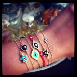 evil eyes i want them all: Evil Eyes, Style, Accessories, Evil Eye Bracelet, Eyes Bracelets, Eye Bracelets, Bracelets Watches, Evil Eye Jewelry