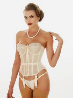 Exclusive Lingerie Addict First Look: A Sneak Peek at What Katie Did's New Merry Widows: Girdles, Corsets, Katie, Wedding, Sexy Lingerie, White, Good, Things, Merry Widow