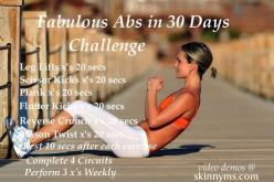 Fabulous Abs in 30 Days Challenge is a results driven workout. Hit the beach or pool with fabulous abs, in just 30 days.: 30 Day Challenge, Driven Workout, Pool, Fabulous Abs, Abs Workout Challenge, Exercise, The Beach