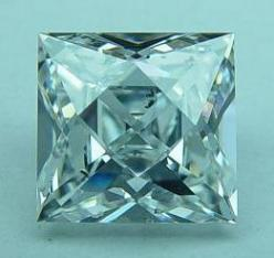 "French Cut Diamond. Although an attractive shape in its own right, this cut is more often used for accent stones in this day and age - as the fashion in modern times is for central stones to optimize ""light performance"" - such as the round brillia"