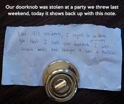 Funny Pictures Of The Day – 101 Pics: Giggle, Doorknob, Funny Stuff, Thought, Funnies, Trippin Balls