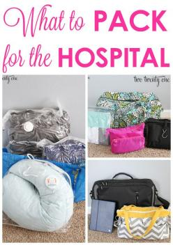 GREAT tips on what to pack for the hospital! Will definitely be using this as a guide line in a few months!: Baby Idea, Baby Hospital Bags, Pregnancy Tip, Baby Hospital Bag List, Pregnancy Month, Baby Hospital Packing List, Bag For Hospital Packing Lists