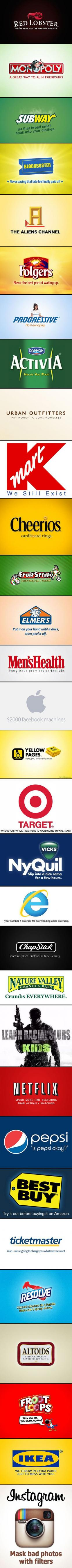 Hahah. So true: Company Logos, Red Lobsters, Target Slogan, Funny Stuff, So Funny, Can'T Stop Laughing, 30 Funny