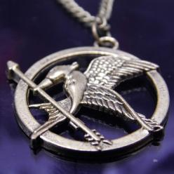 Hunger Games Necklace: After, Games Necklace, District 12, 40, 75Th Hunger, Hunger Games, Games Mocking Jay, Christmas List, Mocking Jay Necklace
