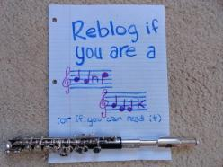 I'm not one any more, but I suppose that once you are, you always are at heart.   And the stem on the B is supposed to be down. :p: Band Music, Marching Band, Band Nerd, Bandgeek, Play Flute, Choir Geek, Band Geeks, Music Band
