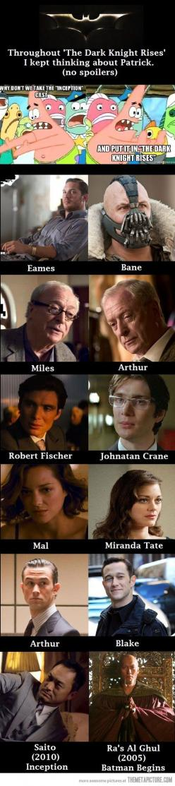 I didn't think that when I saw the movie, but holy crap, mind blown!: Mind Blown, Movies, Funny, Inception, Thought, Batman, Dark Knight