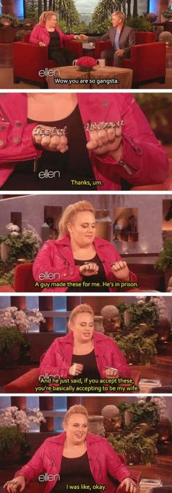 I just laughed: Giggle, Pitch Perfect, Rebel Wilson, Funny Stuff, Rebelwilson, So Funny, Fat Amy