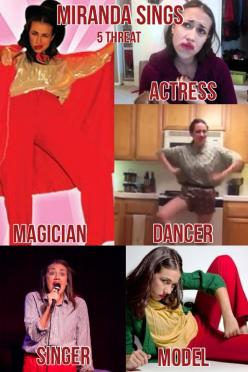 I Lisi Burciaga (lol XD)Made This bootiful collage of Miranda sings: 5 threat Acting, singing, dancing, modeling and most important.... Magic: Hate, Talented Queen, I M, Mirandasings, Funny Miranda Sings, Da Queen, Chief